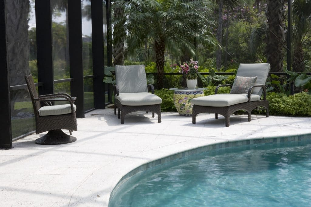 Concrete the optimal choice for your pool deck this summer